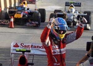 Alonso Ferrari 2010 až 20114